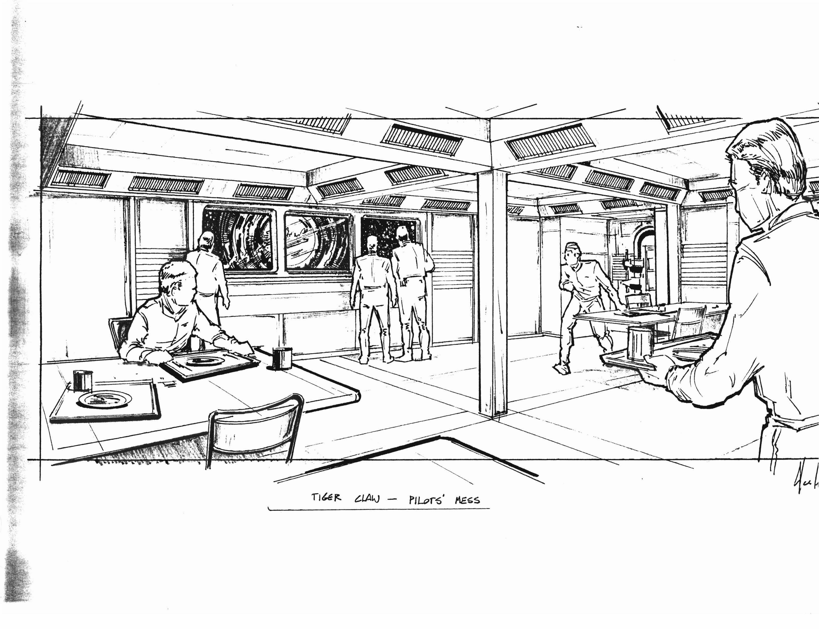 Canteen Coloring Page Coloring